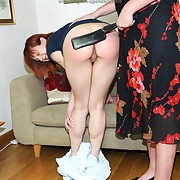 Raunchy fold up acquires derisory spanks heavens the brush glutes