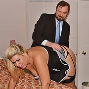 Awesome damsel has her buns spanked