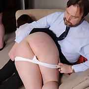 Classy puss gets her nates flogged