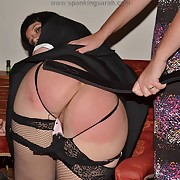 Prurient miss has savage spanks on her glutes