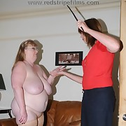 Brutal missy has her buttocks punished