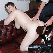 Spectacular maid gets her rear lathered