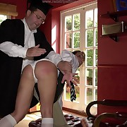 Classy dame gets her ass lashed