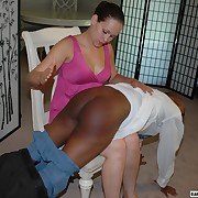 Voluptuous miss gets stern whips greater than her buns