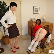 Wonderful latitudinarian gets her submissive trounced