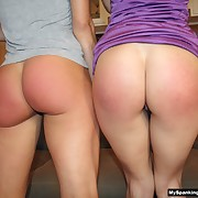 Vulgar lass gets her buttocks flogged