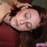 Lustful sweeping acquires fiendish whips on her tush
