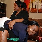 Spiteful thrashing for troublesome chick