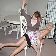 Lustful maiden has brutal whips on her tail