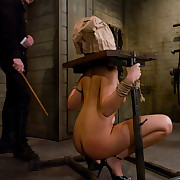 Slave girls trained to serve perverted dinner party