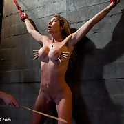 Hard bodied slut, Felony, makes her first appearance on TTOO merely to discover that there is merely one corporalist here and it's not her.
