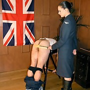 Male was punished by someone's skin fagged and someone's skin paddle