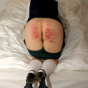 Women spanked hard