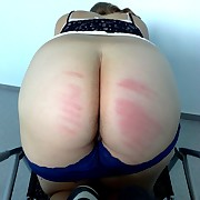 Hot ass to chastise
