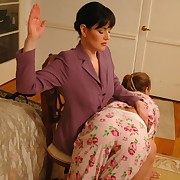 Hard erotic thrashing treatment given by a  strict Mistress