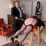 Man caned two mature sluts