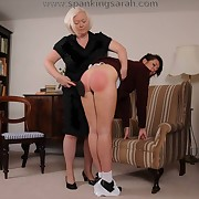 Dope hussy was spanked badly
