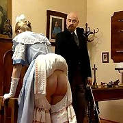 Severe caning action