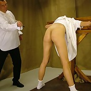 Young babes gets spanked