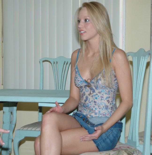 White Blonde College Girl Bbc