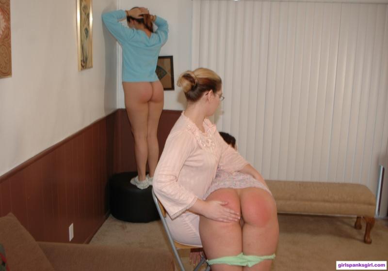 Slipper spank mothers