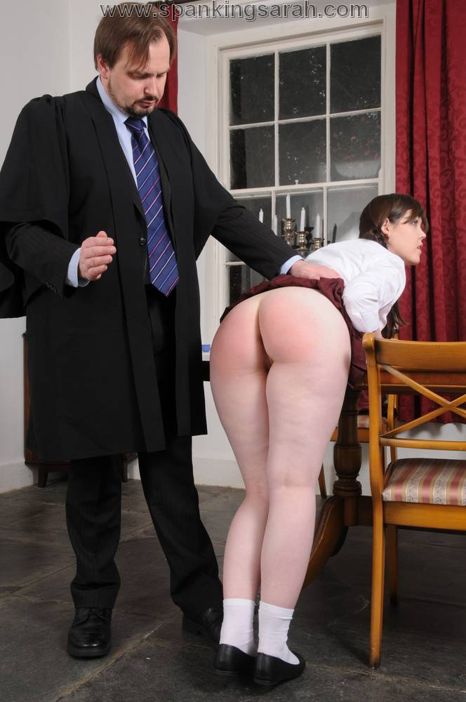 Professor spank punishment