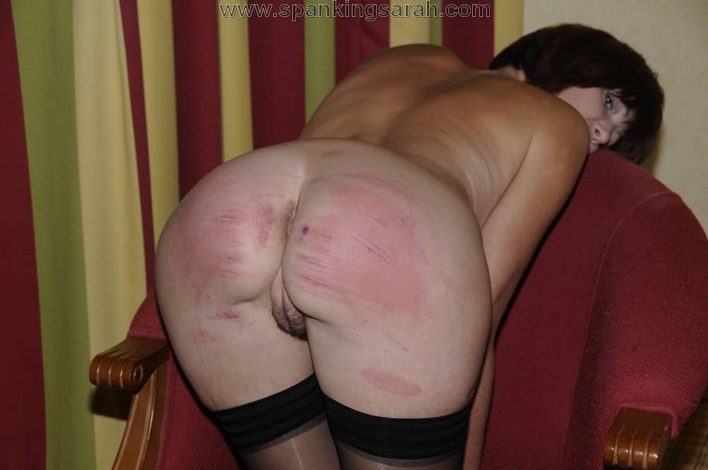 Milf spanking caning