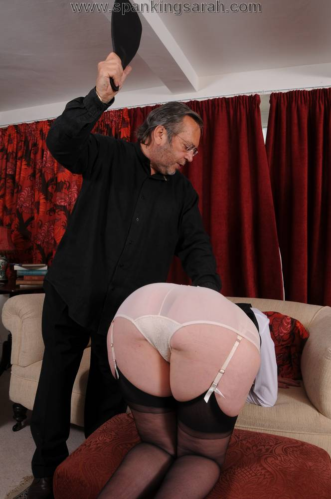 Spank naughty secretary