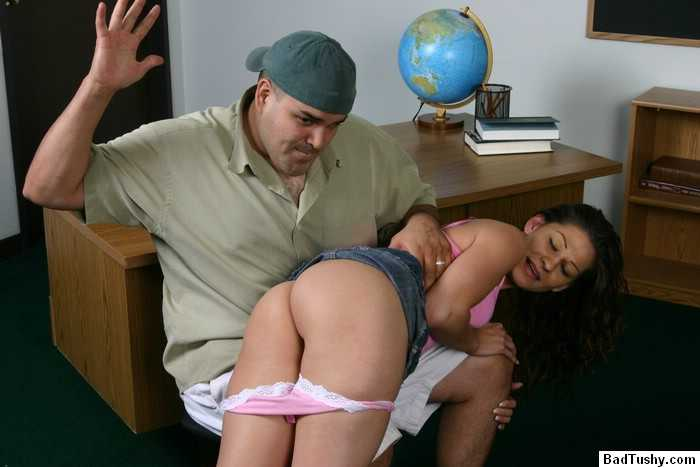 School teacher spanking souls