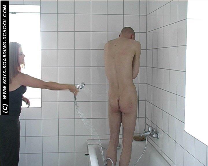 Bathroom Spanking