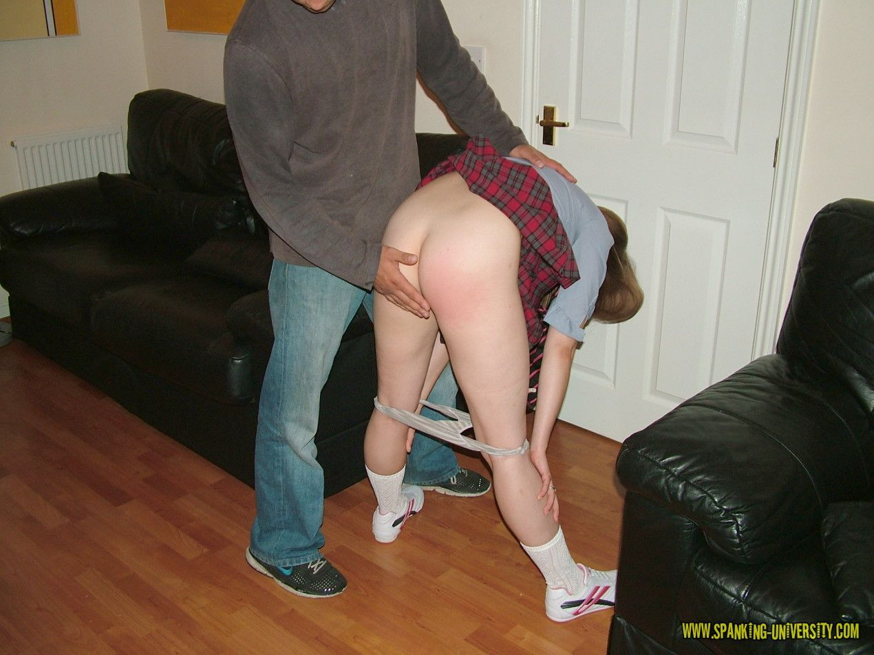 School teacher spanking means