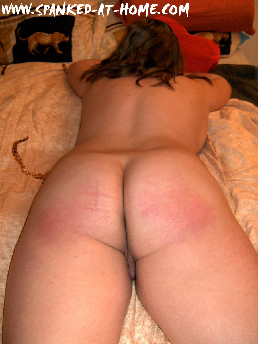 Spanking lesson for severe slutty behavior