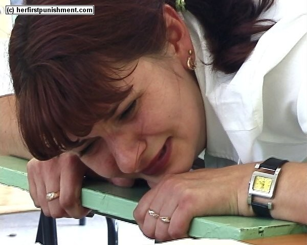 spanked by female teacher