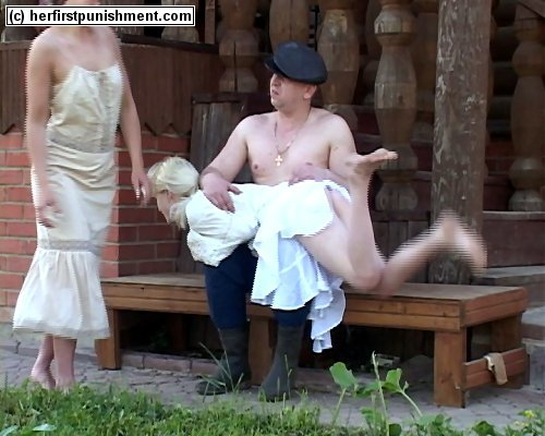 Russian femdom birching