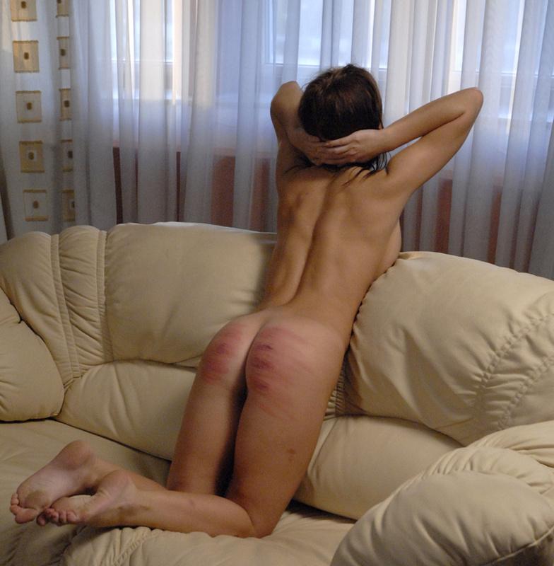 image Girl gets punished first time poor little