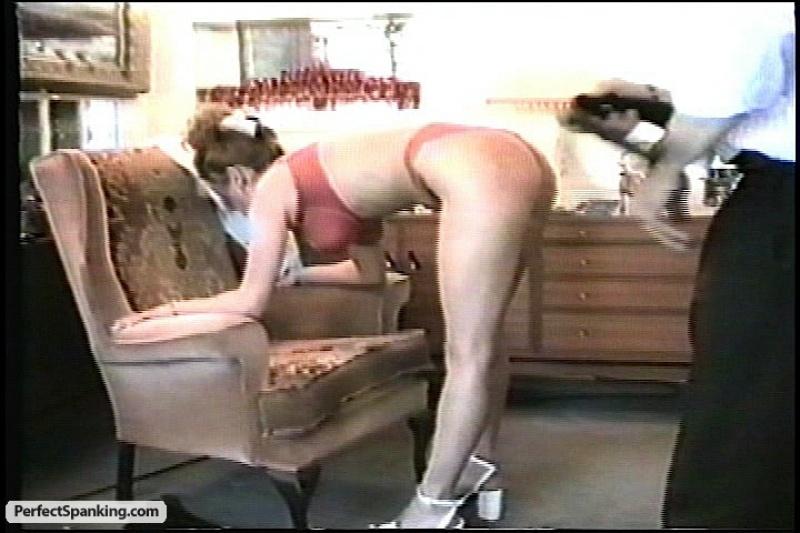 Beautiful round spank