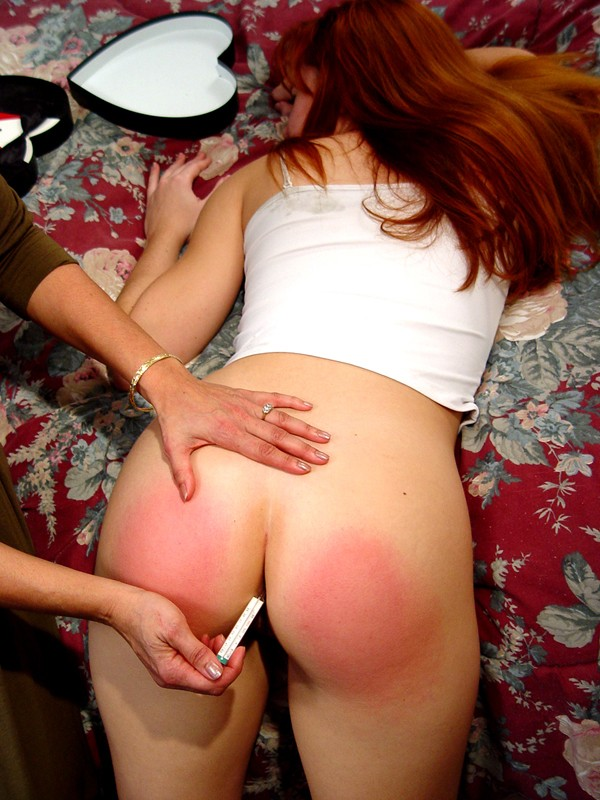 Adults getting spanked