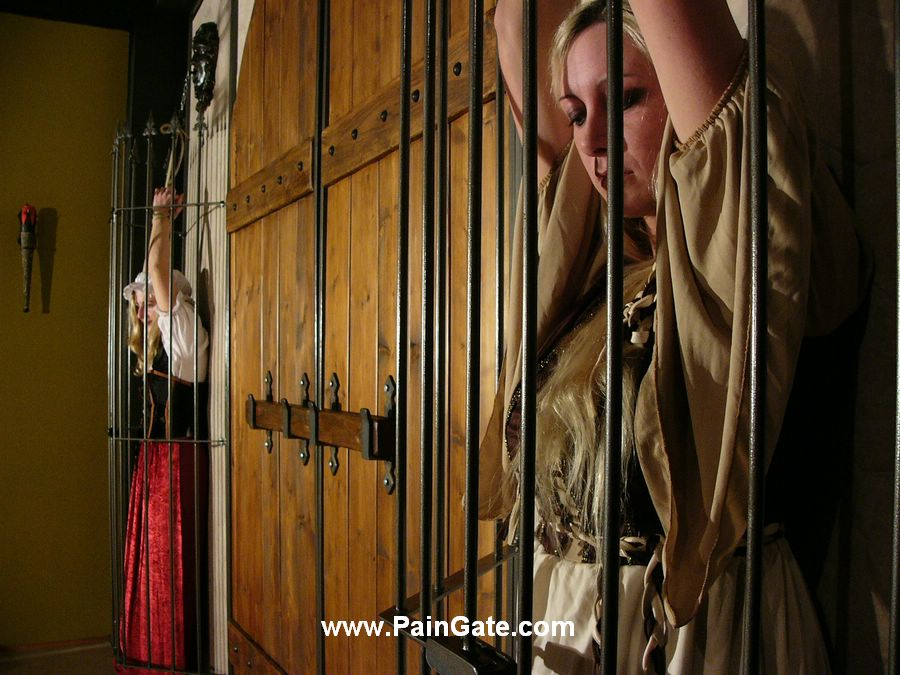 Three slavegirls whipping and extreme punishment to tears 7
