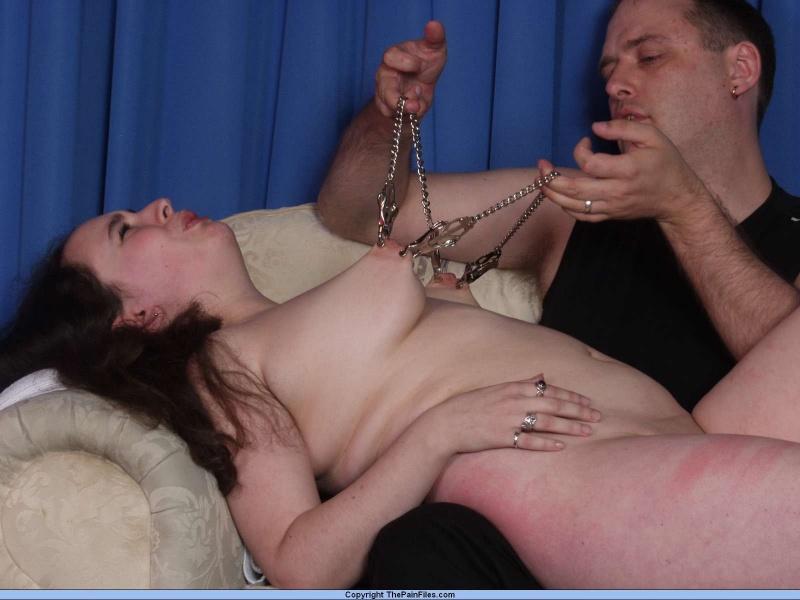 Nipple spank