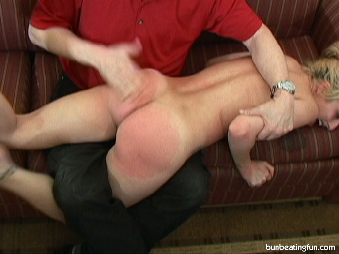 Hot girl getting spanked
