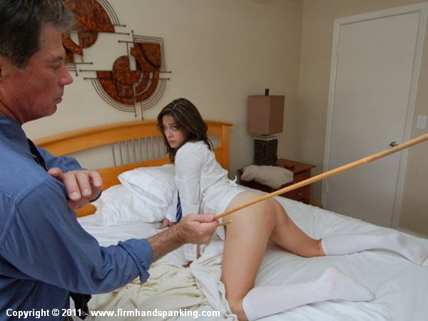 The right way to spank