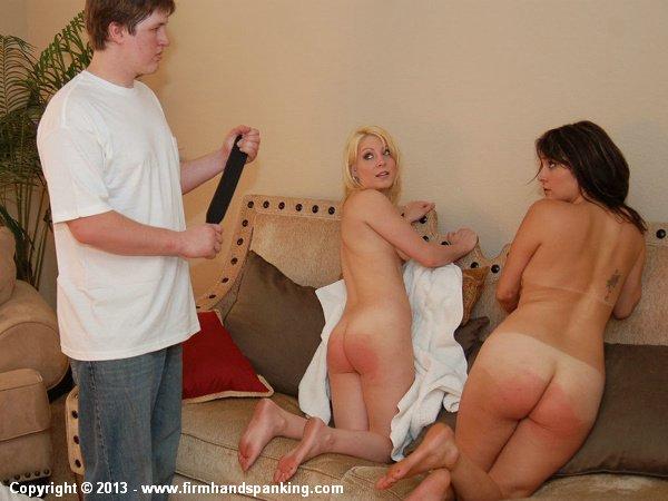 Woodley spanked naked