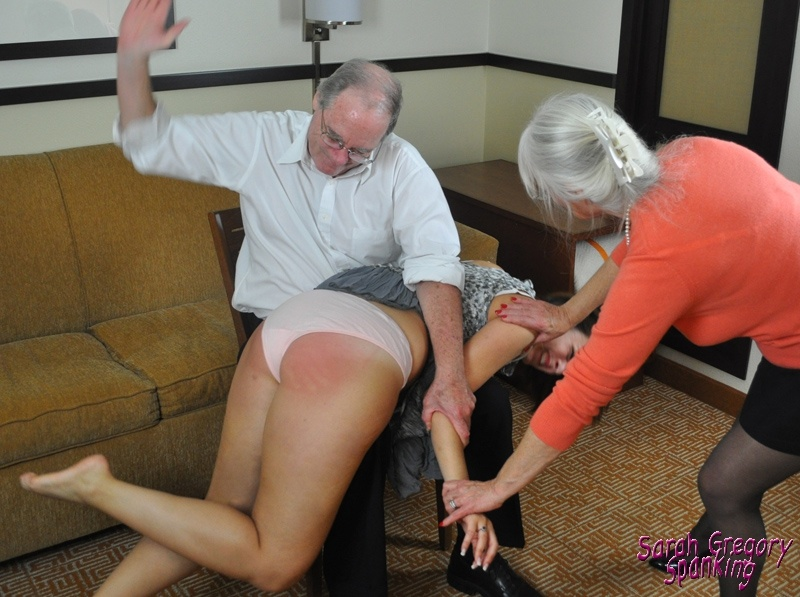 Mom being spank you