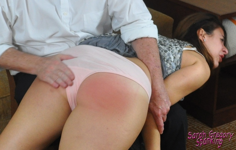 Getting my bum flogged and spanked