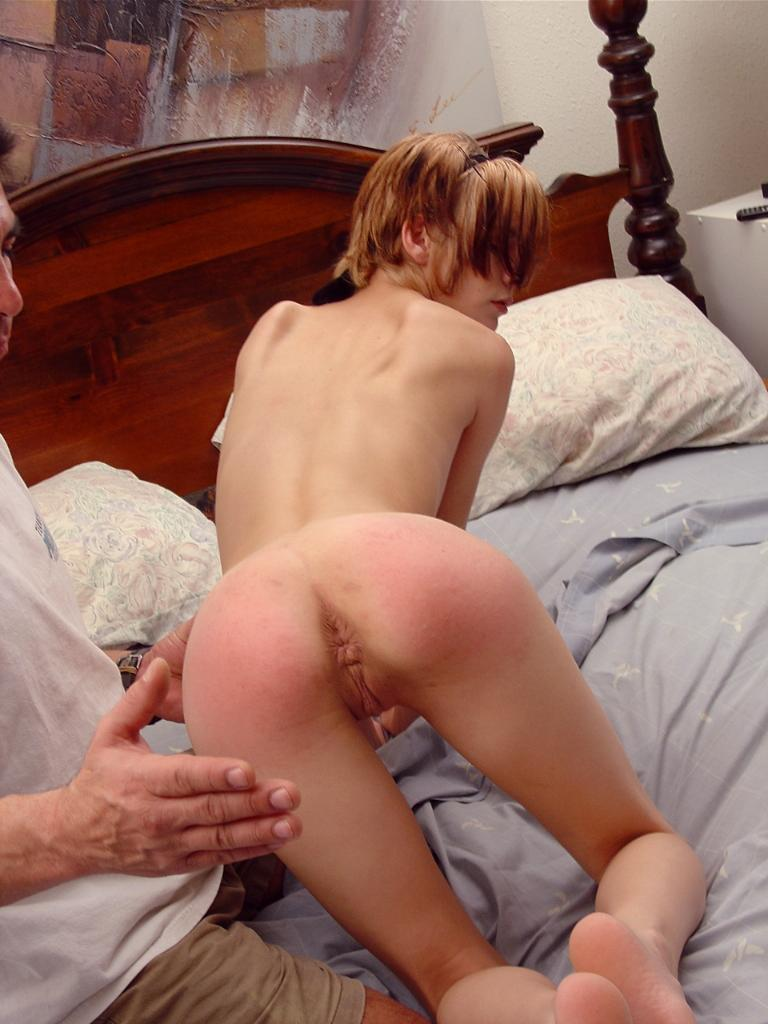 hot girl get spanked nude