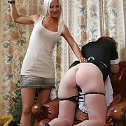 Spanked Cheeks Picture