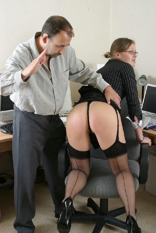 spank secretary