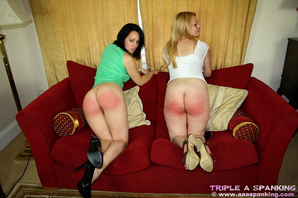 Spanked for wetting the bed