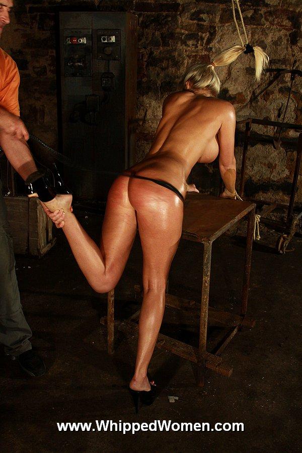 whipped Busty women