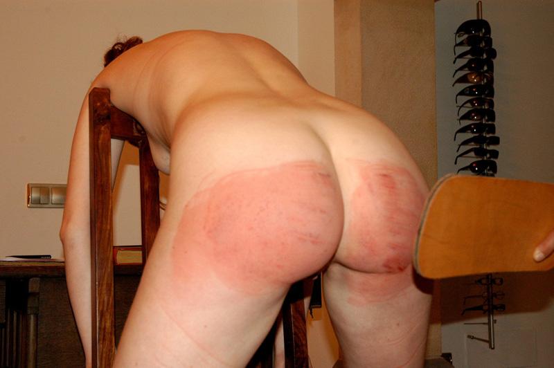 Know Spank butt spread cheeks